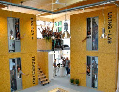 Haus-im-Haus-Prinzip ist gut für das Zusammenleben und für die Energiebilanz Bild  DFH