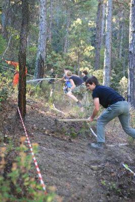 Übung Waldbrand am Berg Quelle HWAK