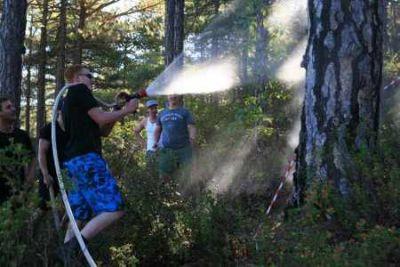 Löschübung Waldbrand auf Zypern Quelle HAWK