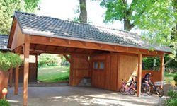 Carports aus Holz als klassischer Carport Bausatz bietet eine echte ...