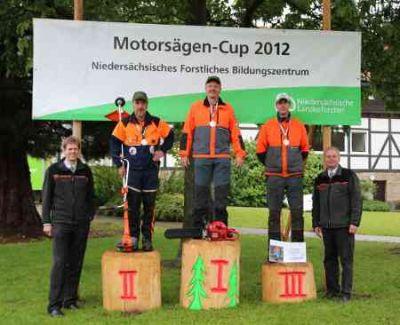 Sieger des Motorsägen – Cups 2012