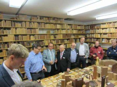 Holzartenbibliothek am Thünen-Kompetenzzentrum Holzherkünfte Foto ProHolzfenster