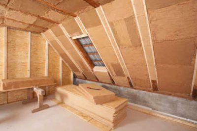 Holzdämmstoffe sind umweltfreundlich und optisch ansprechend Bild Kronoply GmbH