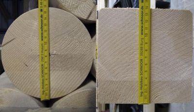 SCHNOOR-Holzstützen standardmäßig für Nutzungsklasse 3 Bild Schoor