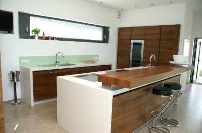Moderne Kuchen Edelstahl Metall Akzente – Truevine.info | {Moderne küchen altholz 23}
