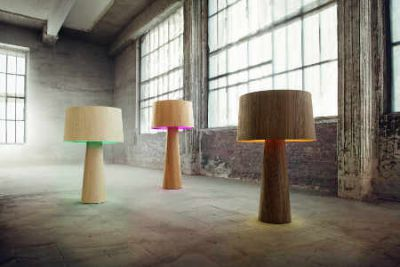 Furnierlampen. Foto lasfera Design