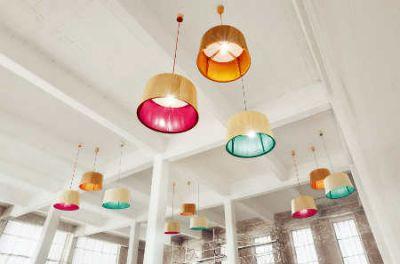 Auch als Deckenlampe wunderschön. Foto lasfera Design