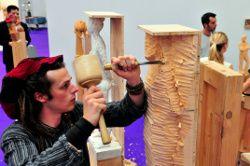 LIGNA HANNOVER 2011 Kunsthandwerk