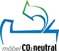 Label CO2-neutale Möbel