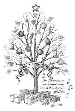 Weihnachtslaubbaum