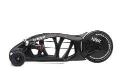 schwarze Racer ist eine Leichtbau-Innovation