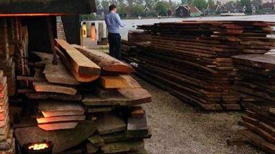 Holztrocknung