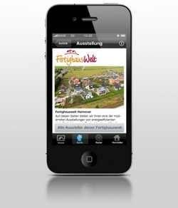 Apps der Fertighaus-Hersteller nutzen die Funktionen von iPad und iPhone