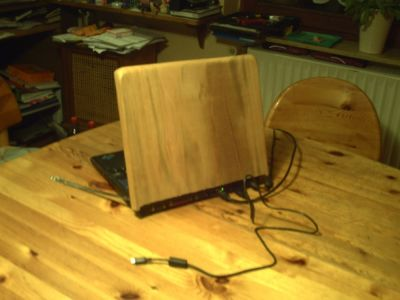 Laptop Holz 1.1