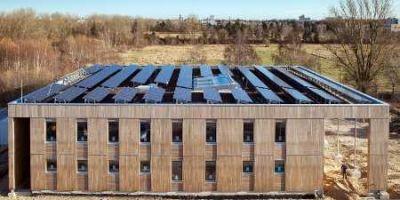 UBA in Berlin-Marienfelde Das neu erbaute Nullenergiehaus  Haus 2019 Quelle  Umweltbundesamt