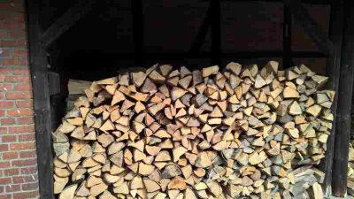 Holz richtig gelagert