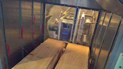 Vakuumkammer-innen für technische Holztrocknung