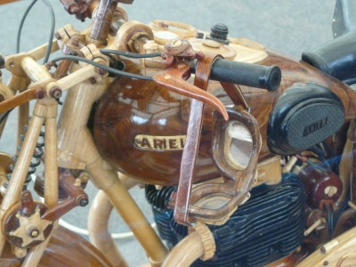 Wood+Motorbike++attention+to+detail+model