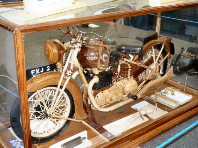 Wood+Motorbike+model